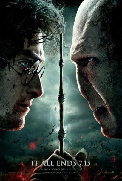 harry potter 7 poster. the Harry Potter poster: