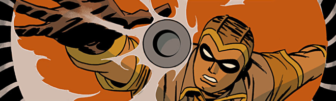 Nite Owl in 'Before Watchmen: Minutemen' #2. Art by Darwyn Cooke.