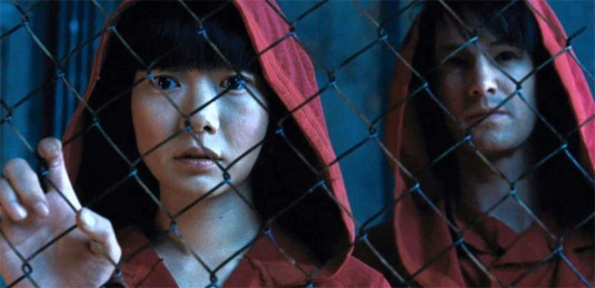 Doona Bae and Jim Sturgess in 'Cloud Atlas'