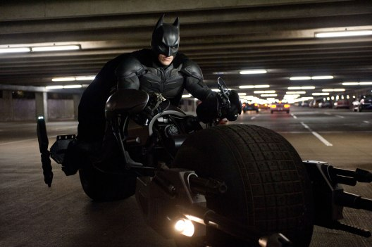 Christian Bale in 'The Dark Knight Rises'
