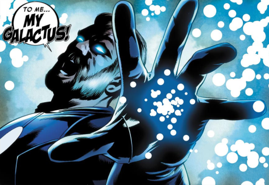 Franklin in 'Fantastic Four' #604. Art by Steve Epting.