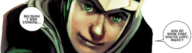 Kid Loki in 'Journey Into Mystery' #645. Art by Stephanie Hans.