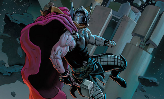 Thor in 'Thor: God of Thunder' #1. Art by Esad Ribic.