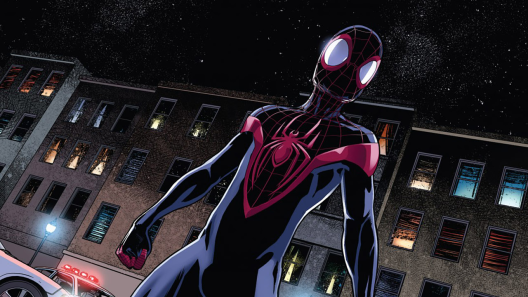 Spider-Man in 'Ultimate Comics Spider-Man' #11. Art by David Marquez.