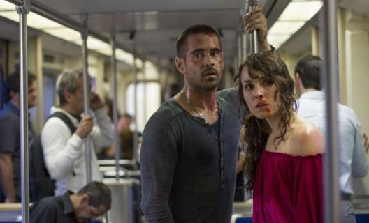 Colin Farrell and Noomi Rapace in 'Dead Man Down'