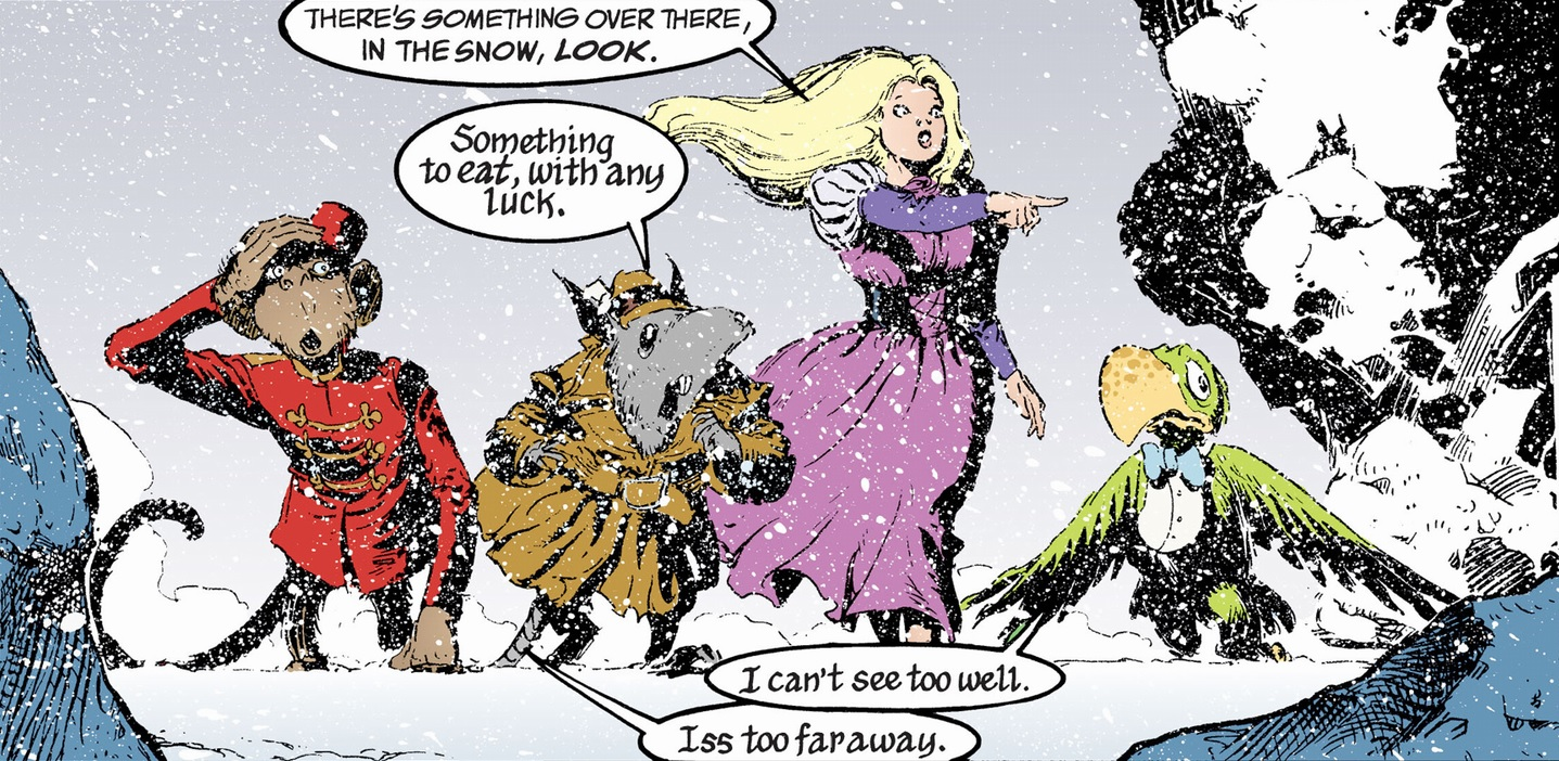 Art from 'The Sandman' #35 by Shawn McManus and Daniel Vozzo.