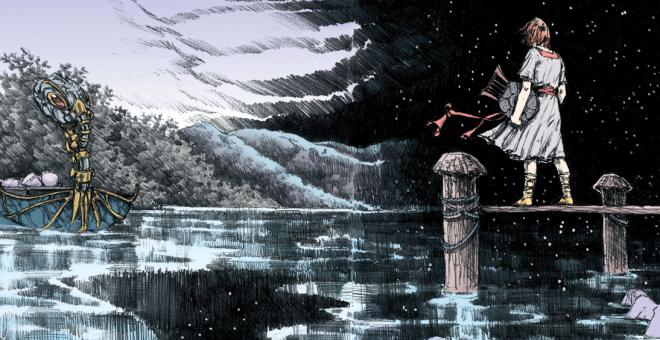 Art from 'The Sandman' #72 by Michael Zulli and Daniel Vozzo.